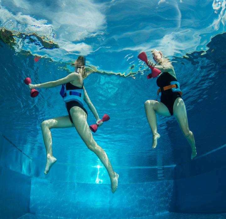 Aqua-Jogging Meets Aqua-Robic